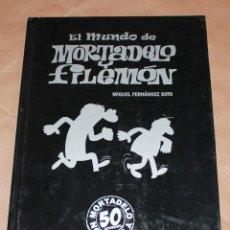 Cómics: EL MUNDO DE MORTADELO Y FILEMÓN - 50 ANIVERSARIO. Lote 100726631