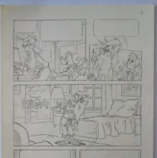 Cómics: PAGINA ORIGINAL DISNEY DONALD. Lote 101199687