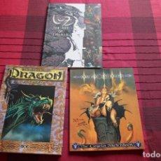 Cómics - Ciruelo Cabral. Luz, Dragon y Magia.Dac Editions. Dedicados. Impecables. - 101262331