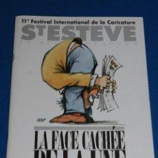 Cómics: (M1) CATALOGO 11 FESTIVAL INTERNACIONAL CARICATURE ST ESTEV 1996 DIFERENTES DEDICATORIAS AUTOGRAFAS. Lote 103411319