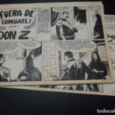 Cómics: DON Z - DIBUJO ORIGINAL - - NUMERO 80 - LAS 10 PAGINAS INTERIORES - TAMAÑO 41 X 30 CMS. Lote 103910027