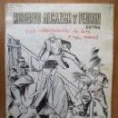 Cómics: ROBERTO ALCAZAR EXTRA Nº 29, COMPLETO: PORTADA + 7 PÁGINAS + CONTRAPORTADA. PLANCHAS ORIGINALES:. Lote 104019423