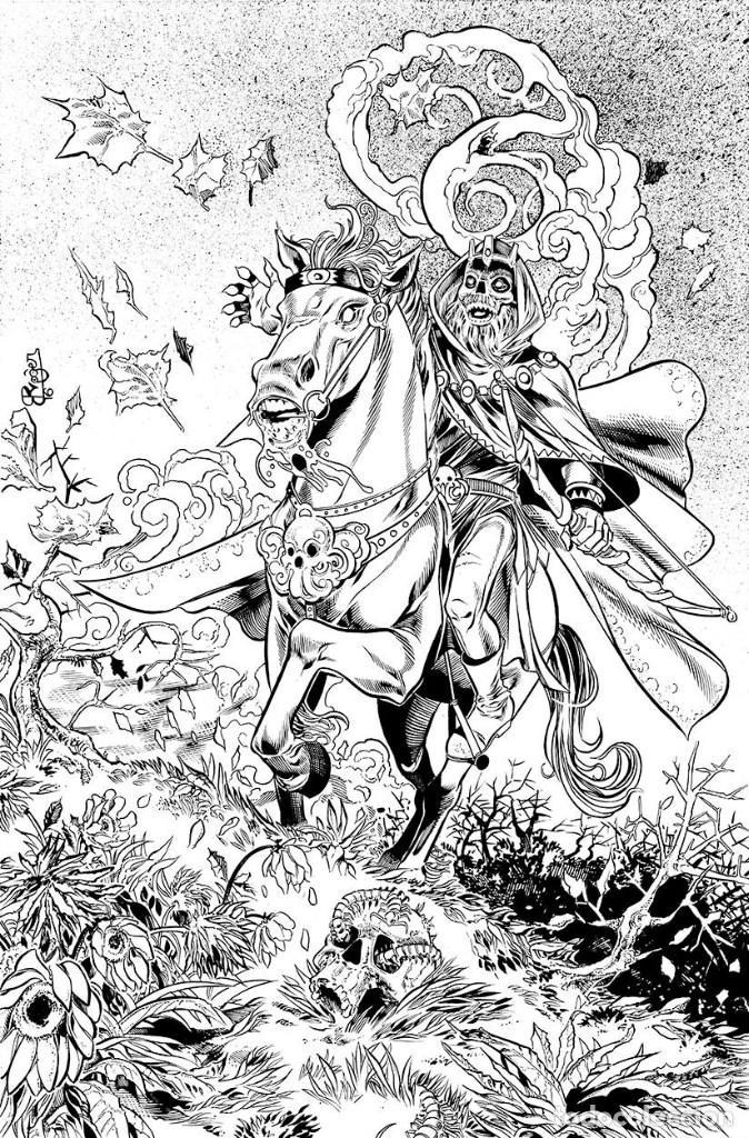 ZENESCOPE COMICS AUGUST 2018 SOLICITATIONS – First Comics News |Grimm Fairy Tales Original Art