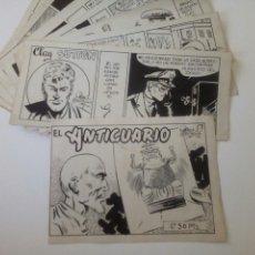 Cómics: CLAY SUTTON. CUADERNO COMPLETO DE CORTIELLA. FIRMADO. 1953. Lote 105160055