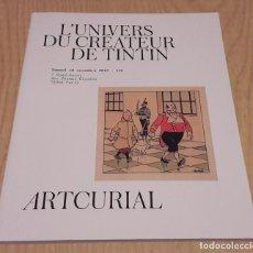 Cómics: EL UNIVERSO DEL CREADOR DE TINTIN(L'UNIVERS DU CREATEUR DE TINTIN) NOVIEMBRE 2017.. Lote 105589763