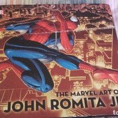 Cómics: THE MARVEL ART OF JOHN ROMITA JR -LIBRO DE ILUSTRACIONES - EN INGLÉS TAPA DURA CON SOBRECUBIERTAS. Lote 106561043