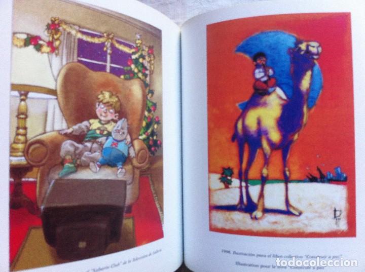 Cómics: FANTASMAGORIE - LIBRO DE ILUSTRACIONES FIRMADO CON DIBUJO ORIGINAL - MIGUELANXO PRADO - ED. MOSQUITO - Foto 3 - 107082031