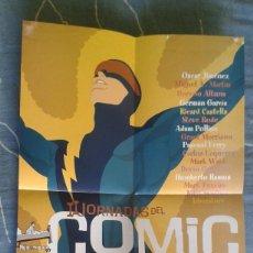 Cómics: POSTER II JORNADA COMIC AVILES, STEVE RUDE. Lote 107483935