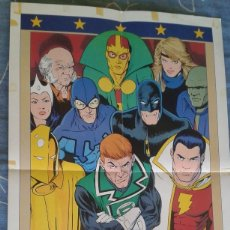 Cómics: POSTER JUSTICE LEAGUE KEVIN MAGUIRE. Lote 107485327
