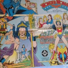 Cómics: POSTER WONDER WOMAN GEORGE PEREZ. Lote 107485515