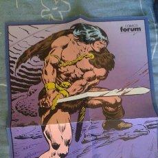 Cómics: POSTER CONAN FORUM 1983. Lote 107487227