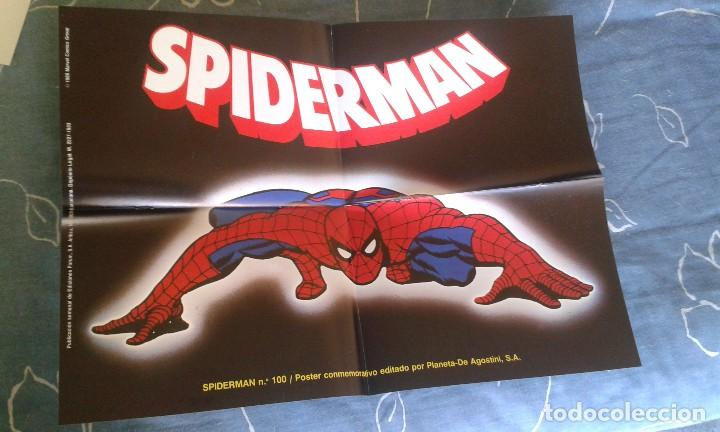 POSTER SPIDER-MAN Nº 100 FORUM 1986 (Tebeos y Comics - Art Comic)