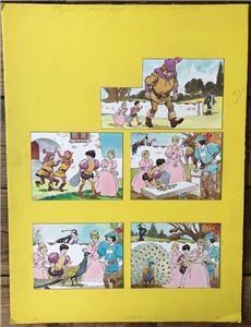 Cómics: LUIS BERMEJO. PÁGINA ORIGINAL PUBLICADA EN PLAYHOUR EN LOS AÑOS 70 - Foto 3 - 109262763