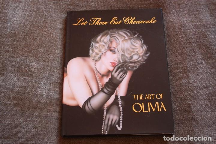 LET THEM EAT CHEESECAKE (THE ART OF OLIVIA). OLIVIA DE BERARDINIS. OZONE PRODUCTIONS. IMPECABLE (Tebeos y Comics - Art Comic)