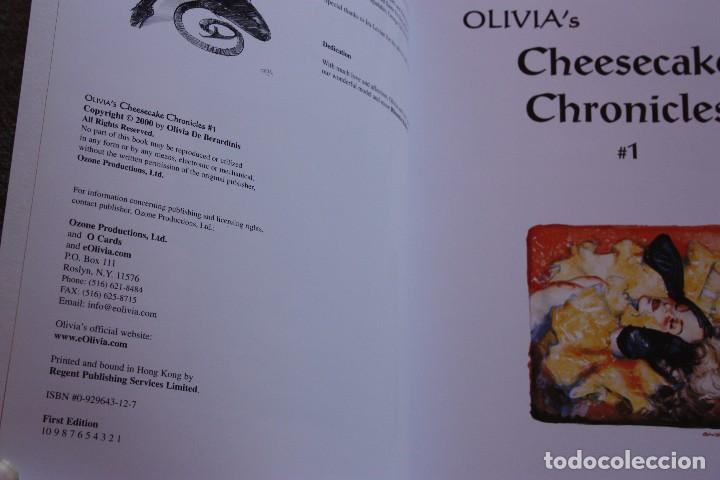 Cómics: Oliviass Cheesecake chronicles 1. Olivia de Berardinis. Ozone Productions. Nuevo - Foto 2 - 110444807