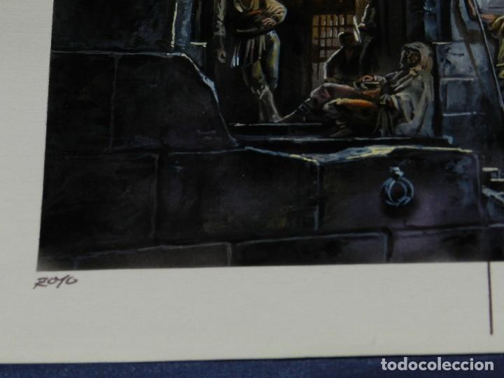 Cómics: (LR) DIBUJO ORIGINAL DE LUIS ROYO - SILVERGLASS , DIBUJO A COLOR , 36'5 X 25'5 CM, BUEN ESTADO - Foto 9 - 110903799