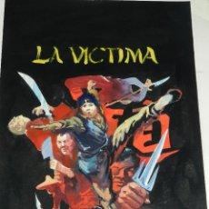 Cómics: (LE1) PORTADA ORIGINAL A COLOR DE LOPEZ ESPI - PUBLICADA EN NORMA , 36'5 X 25'5 CM,. Lote 111329599