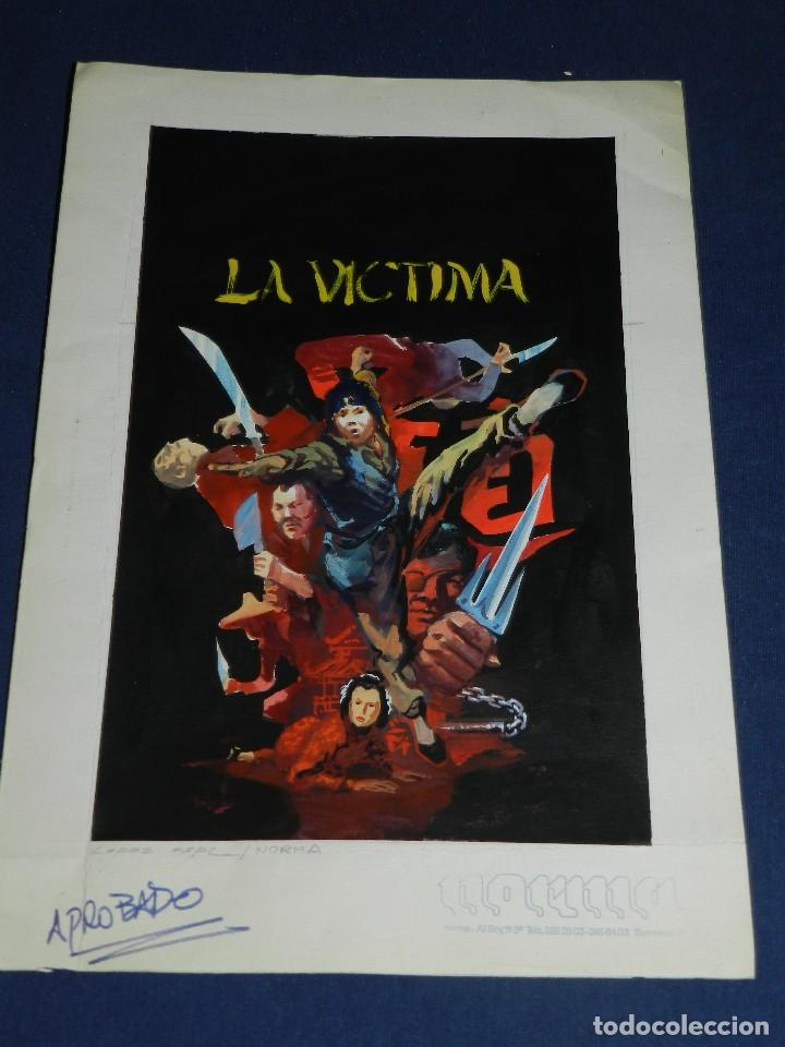 Cómics: (LE1) PORTADA ORIGINAL A COLOR DE LOPEZ ESPI - PUBLICADA EN NORMA , 36'5 X 25'5 CM, - Foto 2 - 111329599