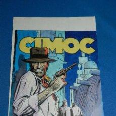 Cómics: (TD) DIBUJO ORIGINAL DE TONI DEU 1983 , PORTADA DE CIMOC A COLOR NUM 34 , 31 X 21'5 CM, BUEN ESTADO. Lote 111674023