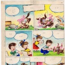 Cómics: PÁGINA ORIGINAL DE RAMÓN SABATÉS V. Lote 111706303