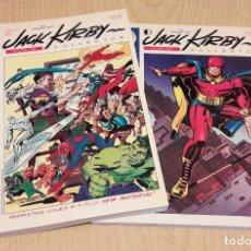 Cómics: JACK KIRBY COLLECTOR. TOMOS 1 Y 2. PRIMERA EDICION.. Lote 111780103