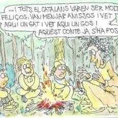 Chiste reproducido en ELS MATINS de TV3. Original de Carlos Romeu