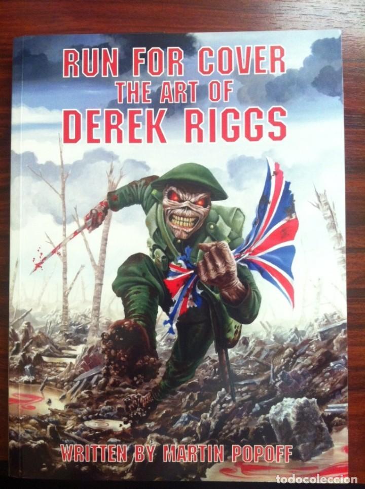 RUN FOR COVER: THE ART OF DEREK RIGGS (Tebeos y Comics - Art Comic)
