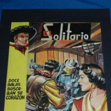 Cómics: (AG1) PORTADA ORIGINAL DIBUJADA POR ANTONIO GARCIA , EL SOLITARIO , MUERTOS Y VIVOS EN GUANAJATO. Lote 113055175