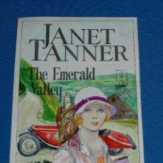 Cómics: (PR1) PORTADA ORIGINAL DE PRIETO - JANET TANNER , THE EMERALD VALLEY , 23 X 15 CM, BUEN ESTADO. Lote 113835795