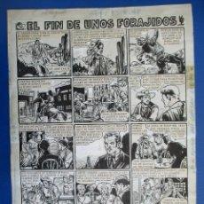 Cómics: FREJO, 13/8/1948 PÁGINA ORIGINAL. PLANCHA ORIGINAL.. Lote 114682175