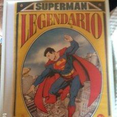 Cómics: POSTER - SUPERMAN LEGENDARIO - DIBUJO DE GEORGE PEREZ - APROX. 88,5CM X 55,5CM - ZINCO. Lote 114725819