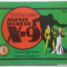 Comics: AGENTE SECRETO X-9 (ESEUVE, 1990) #2. Lote 114729203