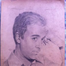 Cómics: DIBUJO ORIGINAL A LAPIZ RETRATO DE JOSE PEPE GONZALEZ - FIRMADO POR ALFONSO 1981- 45X32 CMTS. Lote 114904935