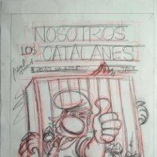 Cómics: JAN PORTADA DE NOSOTROS LOS CATALANES. Lote 116168975