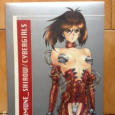 Cómics: CYBERGIRLS : A MASAMUNE SHIROW PORTFOLIO ( GHOST IN THE SHELL ) PRECINTADO. Lote 116697235