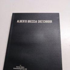 Cómics: ALBERTO BRECCIA SKETCHBOOK (HISTORIAS ARGENTINAS). Lote 164077213