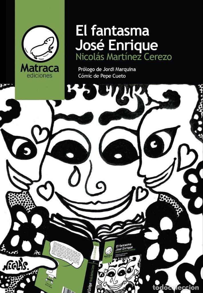 Cómics: Portada original de Nicolás Martínez Cerezo para su libro El fantasma José Enrique - Foto 2 - 117847827