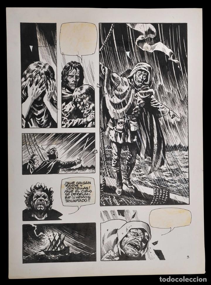 ENRIQUE ALCATENA - ARTE ORIGINAL (Tebeos y Comics - Art Comic)