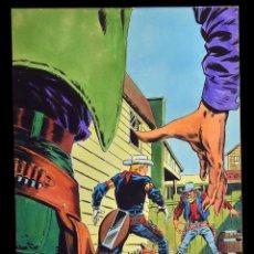 Cómics: LOPEZ ESPI - PORTADA DE KID COLT & LATIGO KID #11. Lote 118059903