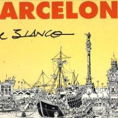 Cómics: BAECELONA DE BLANCO (TBO) DIN A3 TAPAS DURAS 56 PÁGINAS BIBLIOTECA IZQUIERDA ARRIBA. Lote 118184999