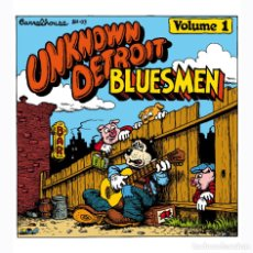 Cómics: ROBERT CRUMB. UNKNOWN DETROIT BLUESMEN, 1970. COMIC UNDERGROUND. Lote 118272491
