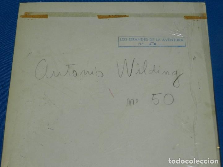 Cómics: (CP11) DIBUJO ORIGINAL DE CARLES PRUNES - ANTONIO WILDING NUM 50 , 35 X 25 CM, BUEN ESTADO - Foto 4 - 120945131