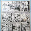 Cómics: DIBUJO ORIGINAL PLUMILLA , EL BARCO EMBRUJADO , 4 HOJAS O PLANCHAS , ORIGINAL, M3. Lote 121372707