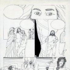 Cómics: GERARDO AMECHAZURRA. PÁGINA ORIGINAL DE COMIC. 1975. PLUMILLA FINA. FIRMADO. Lote 122088887