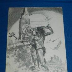 Cómics: (M2) DIBUJO ORIGINAL DE MAREN , EDT NORMA COMICS , 38 X 27 CM, SEÑALES DE USO NORNALES. Lote 122572727