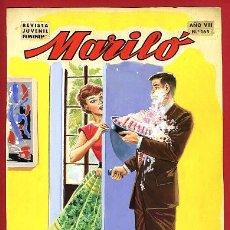 Cómics: DIBUJO ORIGINAL COLOR, JOSE LUIS , PORTADA DE MARILO , Nº 165 , ORIGINAL , M3. Lote 122577779