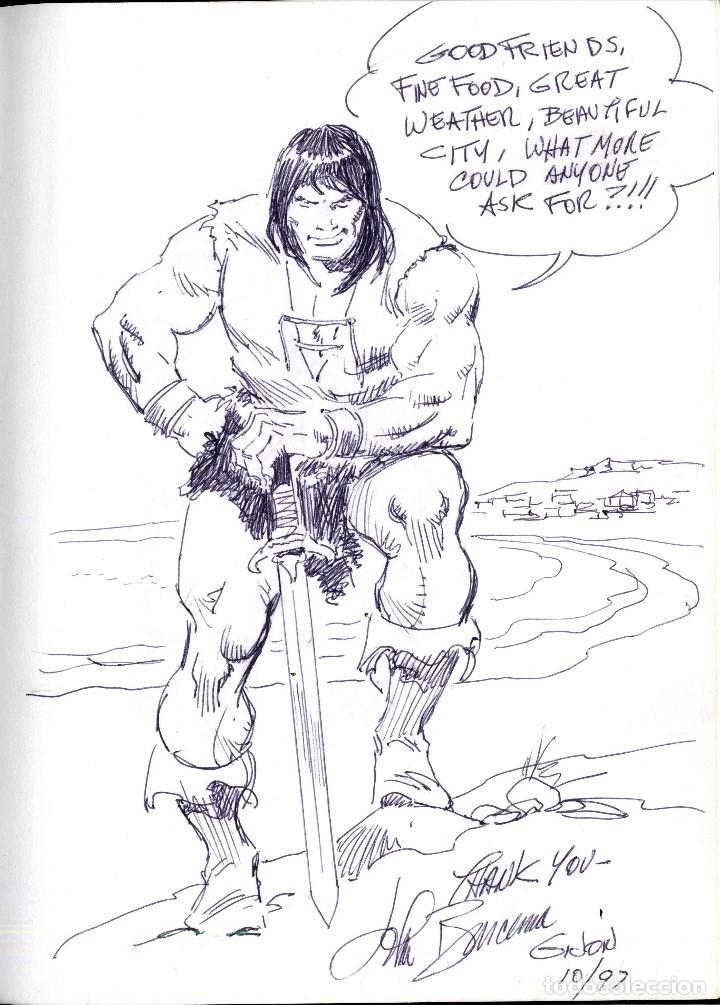 SALÓN DEL COMIC DEL PRINCIPADO DE ASTURIAS HOMENAJE DE JOHN BUUSCEMA TAMAÑO 21 X 29 CM, (Tebeos y Comics - Art Comic)