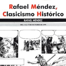 Cómics: SALON COMIC DEL PRINCIPADO DE ASTURIAS CARTEL EXPOSICION RAFAEL MENDEZ TAMAÑO DIN A2 . Lote 126827139