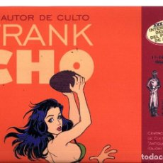 Cómics: SALON COMIC DEL PRINCIPADO DE ASTURIAS CARTEL EXPOSICION FRANK CHOO TAMAÑO DIN A2 . Lote 126877583