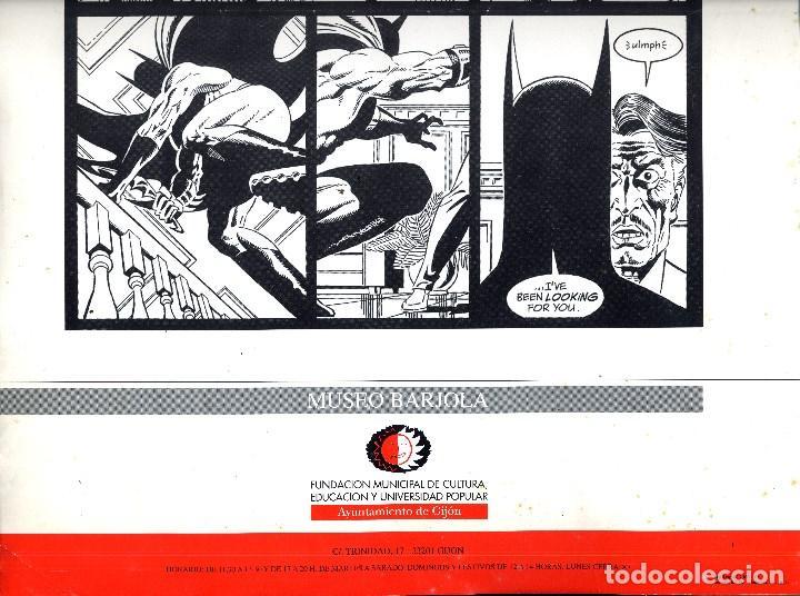 Cómics: SALON COMIC DEL PRINCIPADO DE ASTURIAS CARTEL EXPOSICION PAUL GULACY TAMAÑO DIN A2 - Foto 2 - 126877863